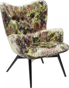 Kare Design Vicky Green Jungle Fauteuil