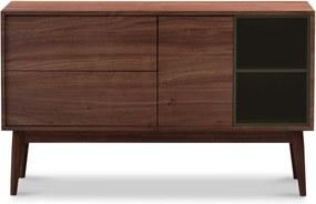 Wood and Vision Urban Sideboard dressoir seed frame walnoot