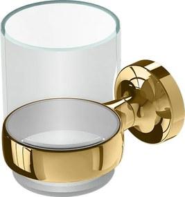 Tone Gold glashouder met glas goud