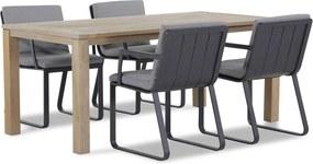 Lifestyle Estancia/Bristol 180 cm dining tuinset 5-delig