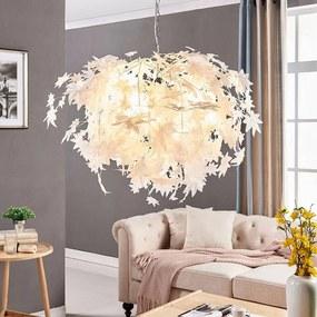 Grote hanglamp Maple met bladmotief - lampen-24
