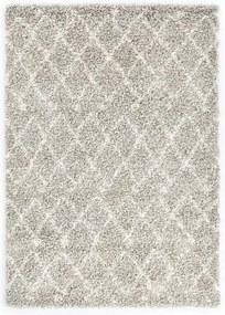 Tapijt Berber shaggy hoogpolig 80x150 cm PP zandkleurig beige