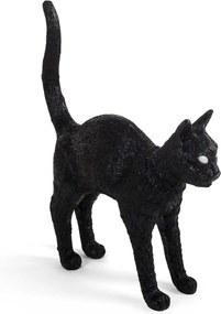 Seletti Jobby The Cat tafellamp LED zwart