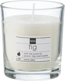 Geurkaars In Glas Fig