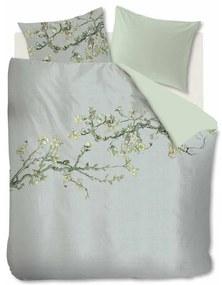 Beddinghouse Blossom dekbedovertrekset van katoensatijn