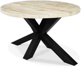 Steigerhouten tafel Rigby met spider poot