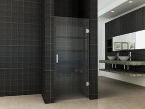 Less douchedeur nis 80cm zonder profiel