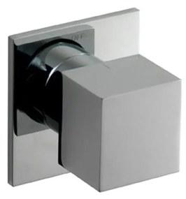 Stopkraan Hotbath Bloke inbouw RVS Look