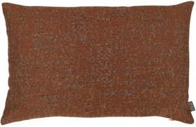 Kussen oranje bruin Indo Met binnenkussen 60 x 40 cm