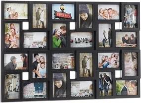 Fotolijst / Fotocollage 24 foto's - Zwart