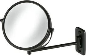Geesa Mirror Collection scheerspiegel 1-armig normaal en 3x vergrotend Ø20cm zwart 91108506