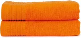 The One Towelling 2-PACK: Handdoek Basic - 50 x 100 cm - Oranje