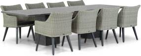 Garden Collections Milton/Graniet 300 cm dining tuinset 9-delig