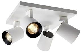 BWS Opbouwspot 4-Lichts Merga 4 11.2x24x24 cm 272Lm 4W 25° Wit