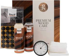Goossens Soft Touch Polish Premium Wood Care Kit, Mat polish tbv soft touch lak