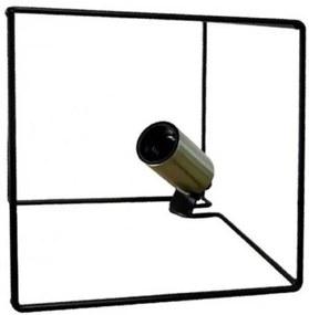 Rox Living Tafellamp 18,5 Cm Messing/Staal Zwart/Goud