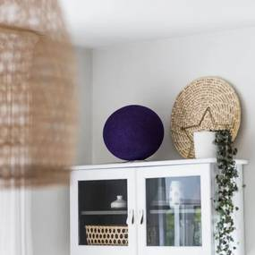 Staande Cottonball - Purple - dia 31cm