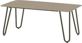 4 Seasons Outdoor Cool lounge tuintafel 110x59x45 cm - taupe