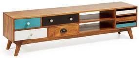 Kave Home Conrad Retro Tv-meubel Hout - 160x35x41cm.