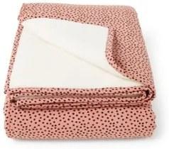 Mies & Co Big Cozy Dots ledikantdeken 110 x 140 cm
