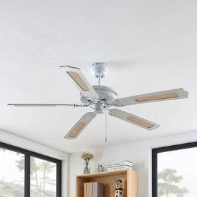 Ruhne plafondventilator, wit - lampen-24