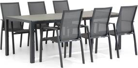 Lifestyle Ultimate/Poro 210 cm dining tuinset 7-delig