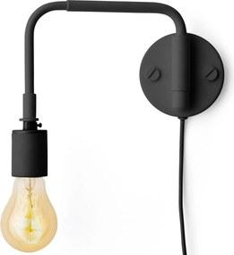 Menu Staple wandlamp zwart
