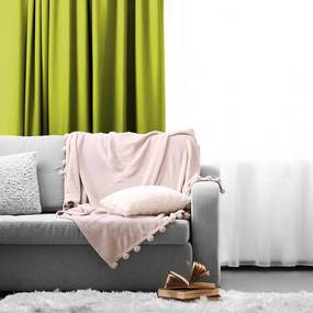 Lifa Living Haken Gordijn -  150 x 250 - Mint