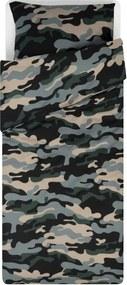 Dekbedovertrek 140x200/220 Zacht Katoen Camouflage
