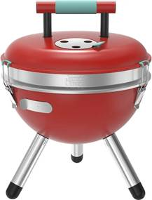 Park barbecue rood