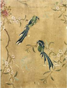 IXXI Panel of Chinese painted wanddecoratie 80 x 100 cm