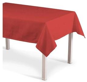 Rechthoekig tafelkleed, rood