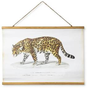 Vintage poster - luipaard - 70 x 50 cm
