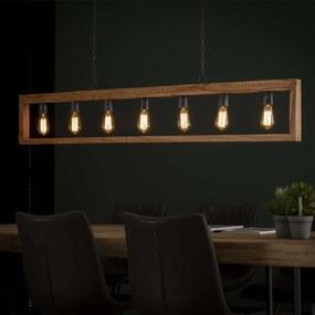 Hanglamp 'Monique' 7-lamps