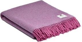 Plaid roze, lila, wol, Pink Lavender