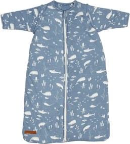 Slaapzak winter 70 cm - Ocean blue - Beddengoed