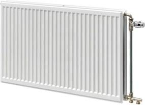 Stelrad Hygiene Galva paneelradiator gegalvaniseerd type 20 + strippen 500x800mm 706W wit 0108052008