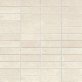 Terra Beige & Brown tegelmat 30x30 cm. 7,3x2,3 cm. a 11 stuks licht grijsbeig