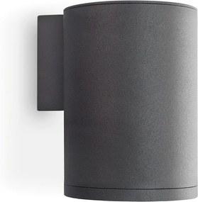 Budgetlight Rook Round Single LED Wandlamp IP54 GU10 MAX 1x50W