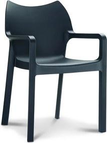 Designstoel Monaco - Zwart