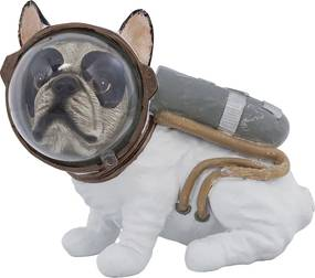 Kare Design Space Dog Sitting 18 Cm Astronaut Hond