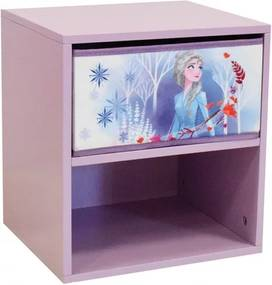 Nachtkast met lade Frozen 33 cm meisjes roze