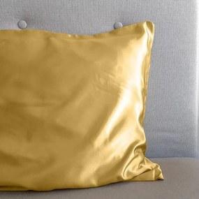 Sleeptime Elegance Zijde Geweven Kussensloop - Gold