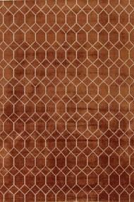 Brinker Carpets - Brinker Feel Good Carpets Laatz Terra - 200 x 300 - Vloerkleed