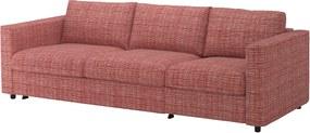 IKEA VIMLE 3-zits slaapbank Dalstorp veelkleurig - lKEA