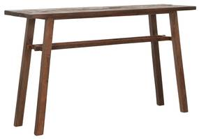 Must Living Campo Sidetable Van Gerecycled Hout - 140 X 40cm.
