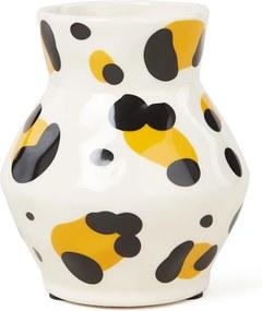 &Klevering Leopard vaas 14 cm