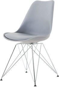 Essence Metal eetkamerstoel - Chroom onderstel- Butik Consilum - Chrome - Eetkamerstoel - Vitra DSR - Design - Scandinavisch