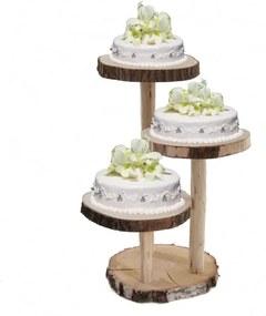 Etagère als taartstandaard 70 cm
