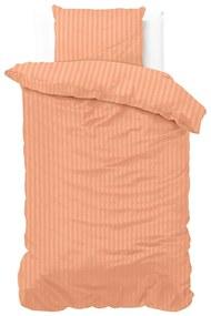 Zensation Dallas - Oranje 1-persoons (140 x 200/220 cm + 1 kussensloop) Dekbedovertrek